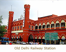 Old Delhi Railway Station, India Train Travel